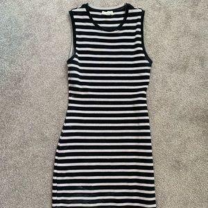 Wilfred Free Striped Mini Dress